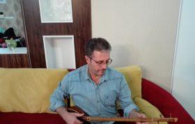 اجرای ترانه گل گلدون با سه تار